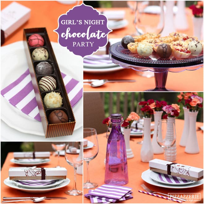 Host a Girl's Night In Chocolate Truffle Tasting Party!