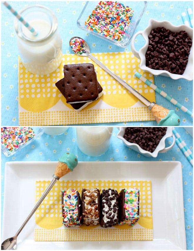 Fun Ice Cream Sandwich Treats!