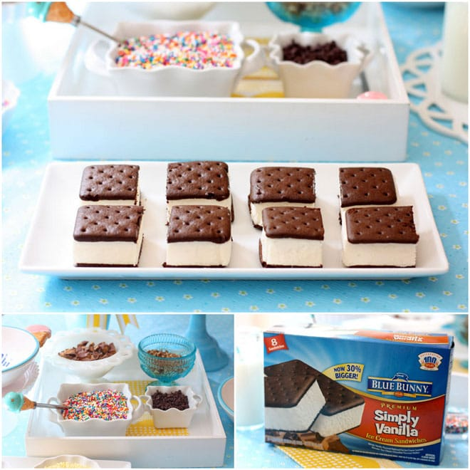 Ice Cream Sandwich Treats, DIY!