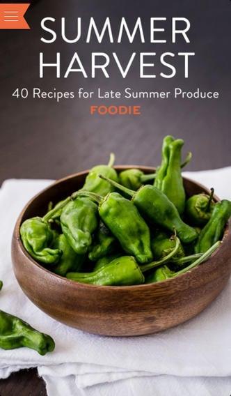 Recipes for Summer Harvest