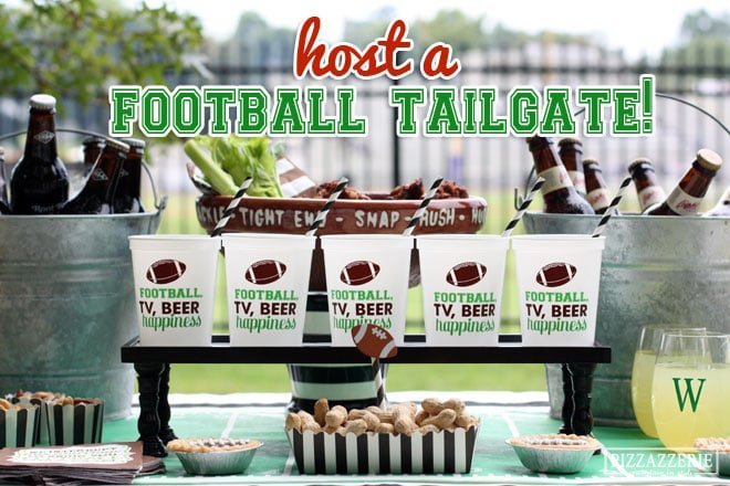 Host a Football Tailgate Inspiration and Photos!