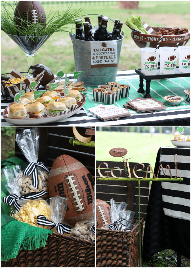 Football Tailgate Inspiration With Swoozie S Pizzazzerie