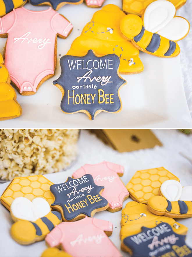 Party Feature Honey Bee Baby Shower Pizzazzerie