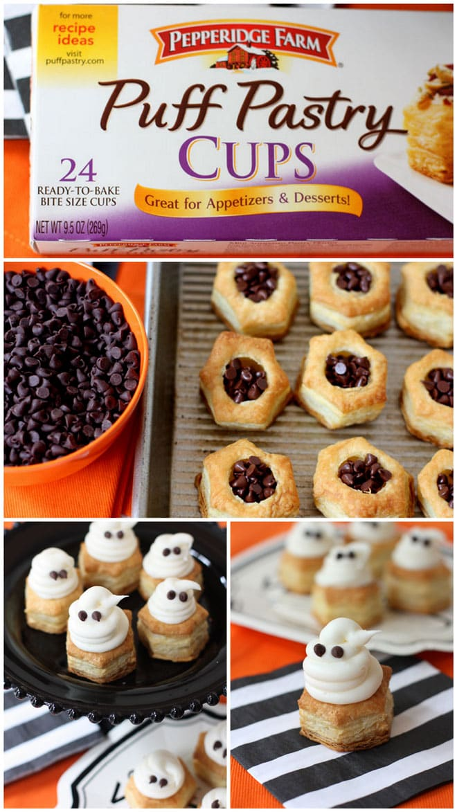 Halloween Ghost Cups - EASY and CUTE!