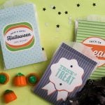 Halloween Treat Bag Printables!