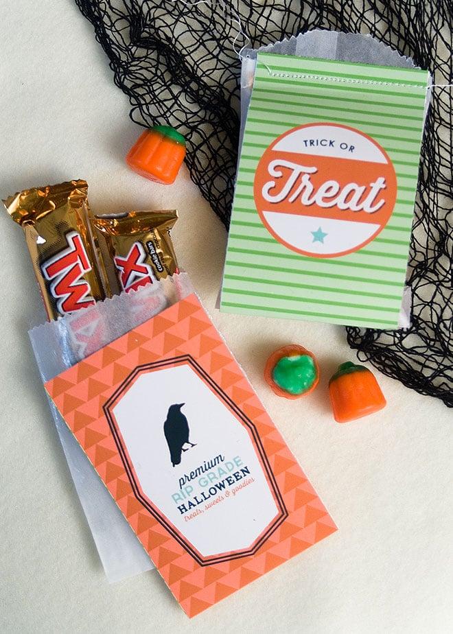 Halloween Treat Bag Printables!