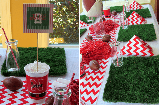 Festive Football Party Photos + Inspiration!