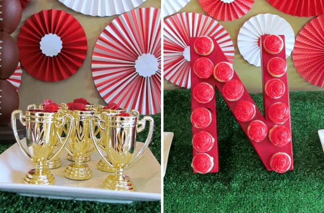 Festive Football Party Photos + Inspiration!