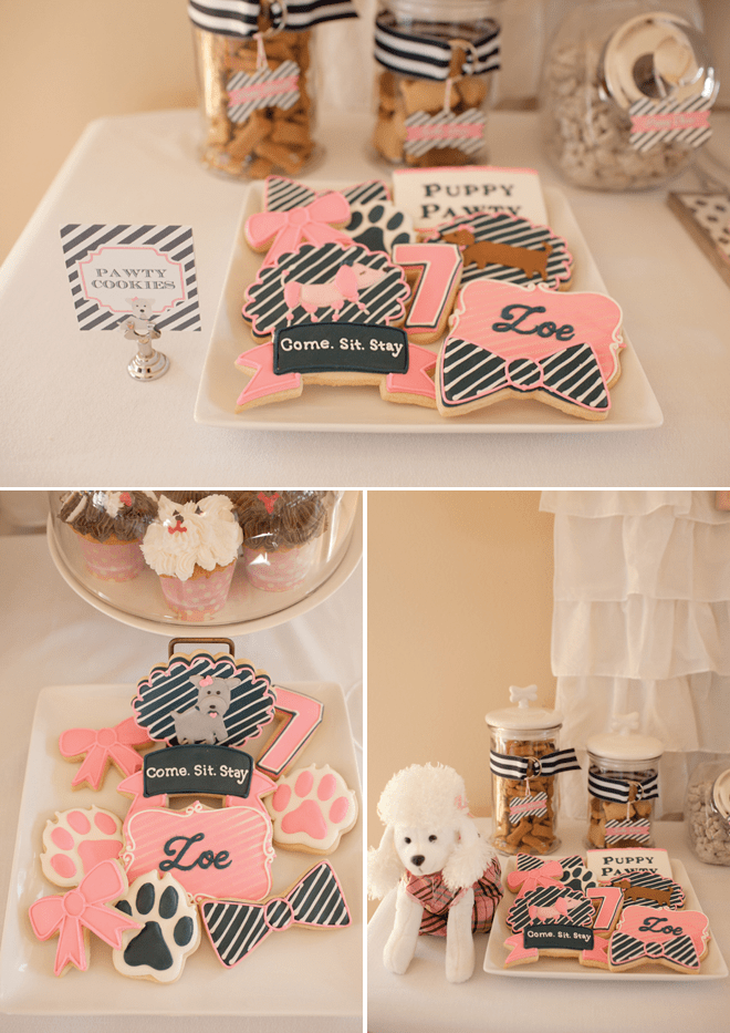 "ADORABLE Puppy ""Pawty"" Party Photos and Inspiration!"