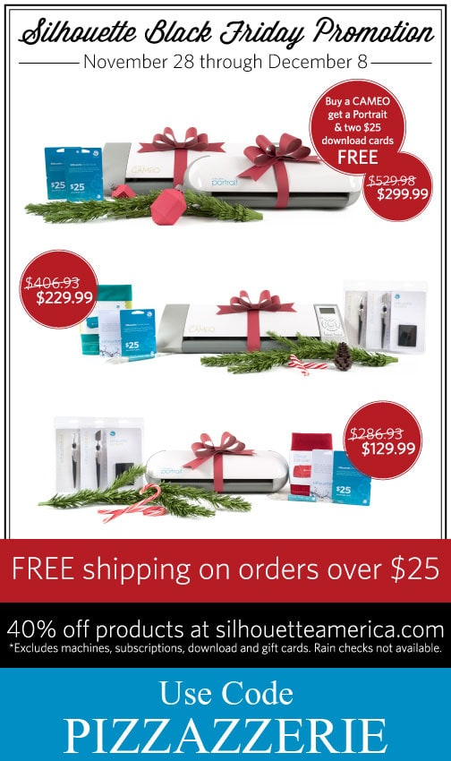 SILHOUETTE Black Friday Deals!!!