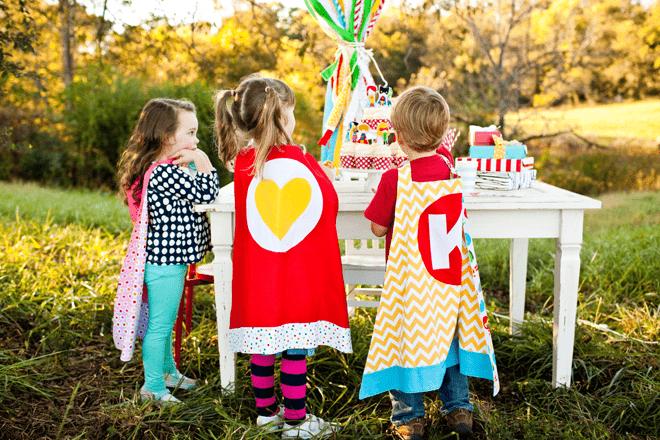 Creative Super Kids Party Inspiration + Photos!