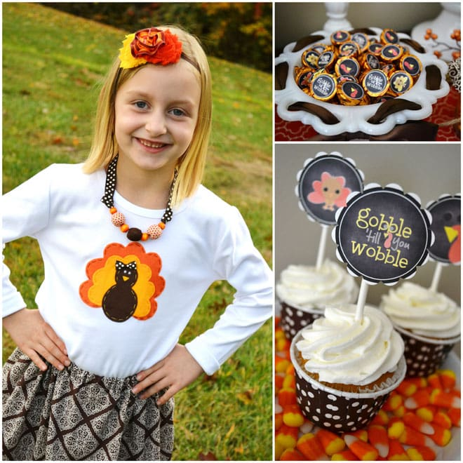 Gobble Gobble! Cute Thanksgiving Party Inspiration!