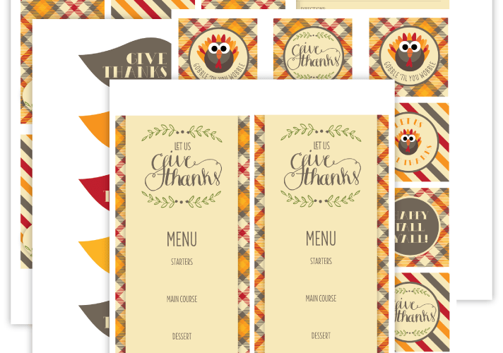 Craft a Fabulous Thanksgiving {Free Download}