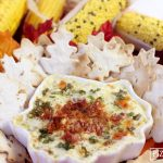 ADDICTIVE RECIPE: Baked White Cheddar, Bacon, Artichoke Dip!