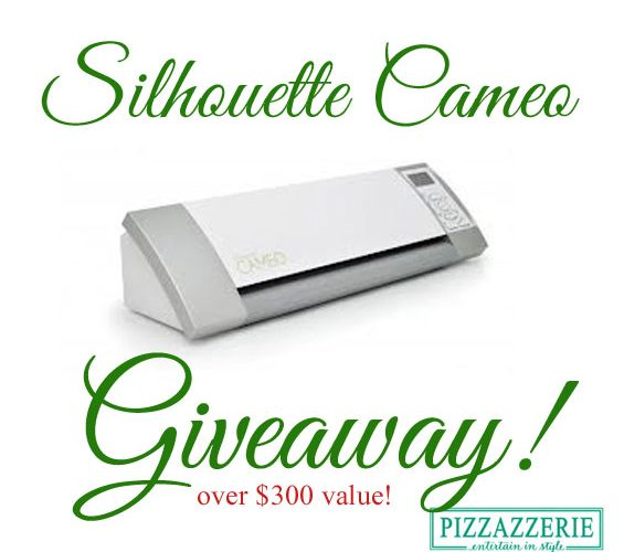 *Giveaway* Win a Silhouette Cameo!