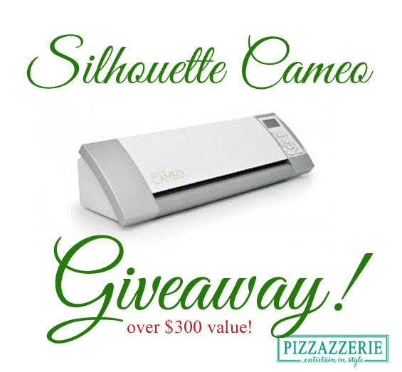 Win a Silhouette Cameo Crafting Machine from Pizzazzerie