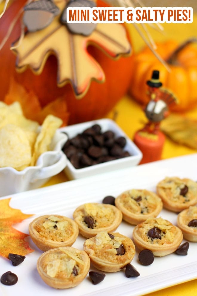Mini Sweet & Salty Pies - SO delish!