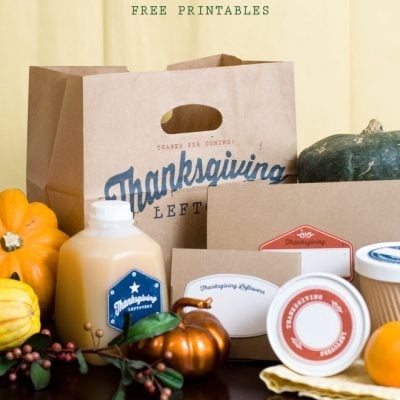 Cute & Simple Thanksgiving Printables For Free!
