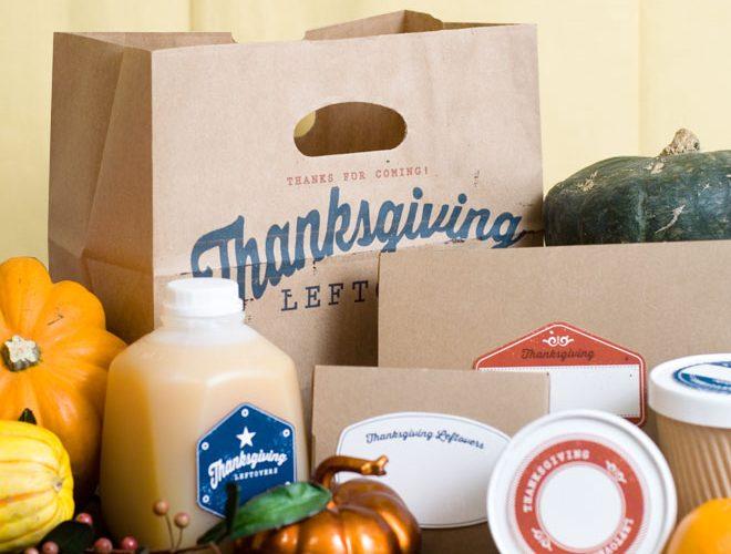 Free Thanksgiving Leftover Printables!