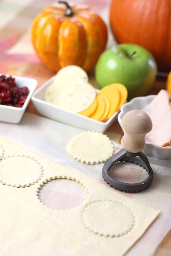 Bite Size Turkey Thanksgiving Appetizers!