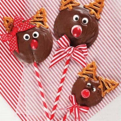 Reindeer Pops for Christmas! EASY!