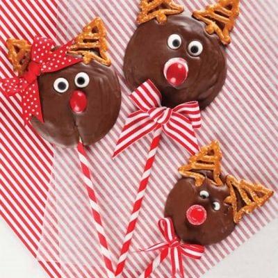 Reindeer Pops for Christmas! EASY!