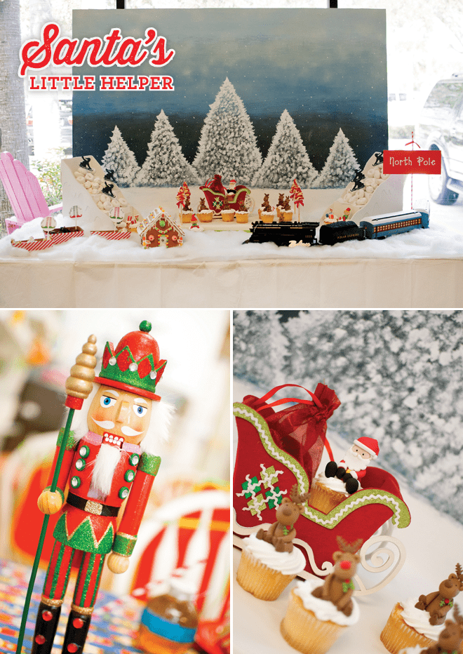 Fun + Festive Santa's Helper Party Photos + Inspiration!