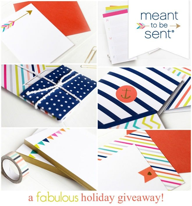 A fabulous holiday paper giveaway!