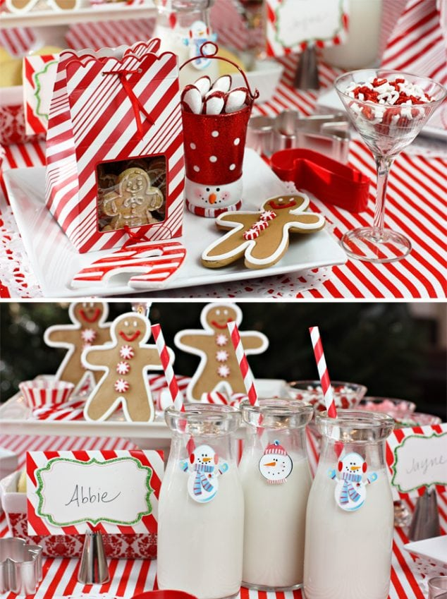 A holiday themed baking party!