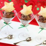 Sugared Pastry Stars + Chocolate Mousse!