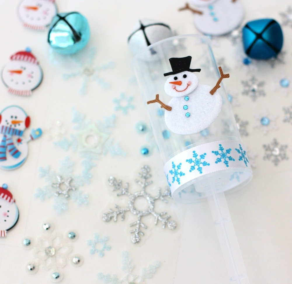 Items for Snowmen Push-Up Pops by pizzazzerie