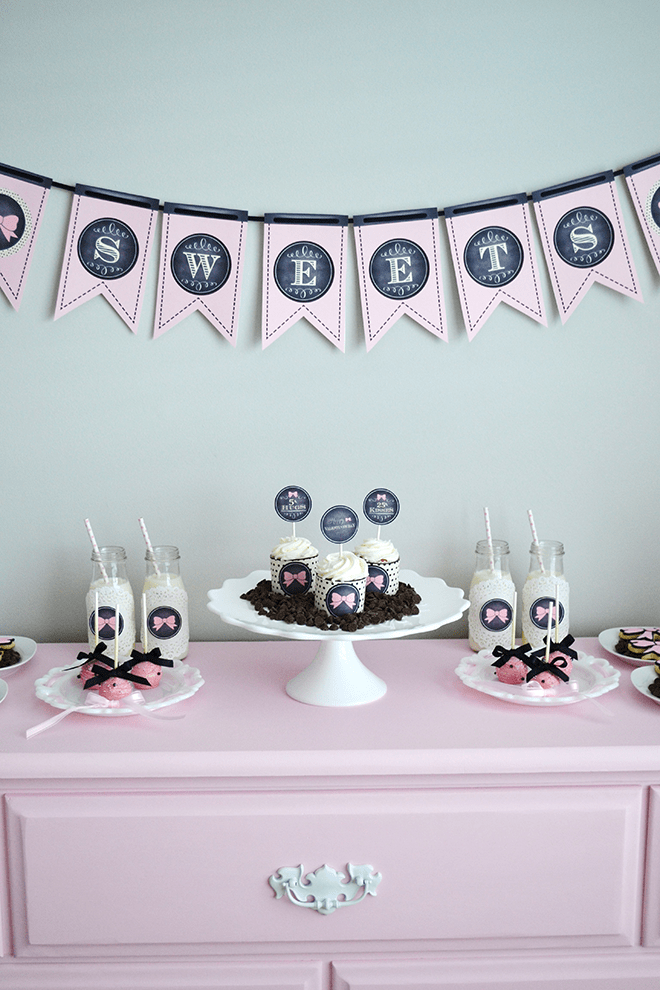 Sweet + Chic Bow Party Photos + Inspiration! Perfect for Valentine's Day!