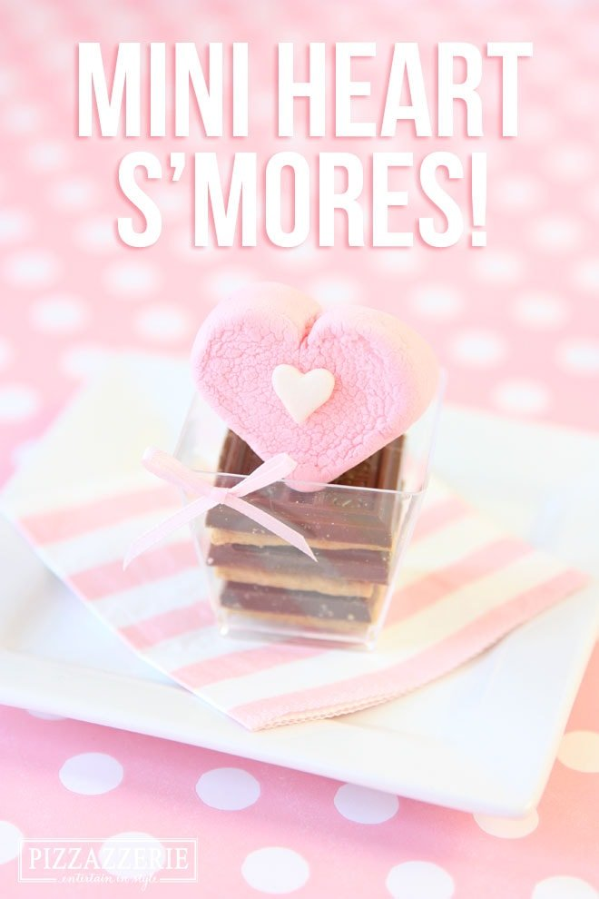 Make Heart S'mores for Valentine's Day!