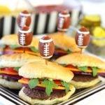 Football Sliders for the Super Bowl