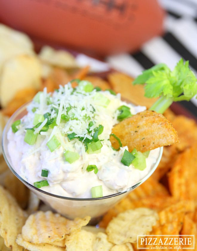 Spicy Parmesan & Onion Dip