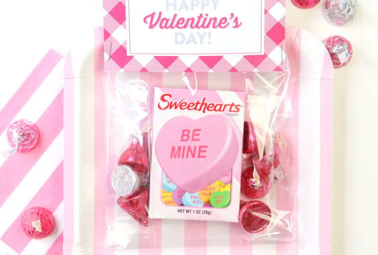 DIY Valentine's Treat Bags!