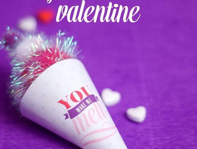 """DIY """"You Make Me Melt"""" Valentine!"""