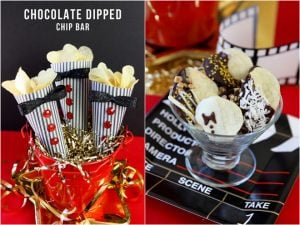 Serve up a Chocolate Dipped Chip Bar with Lay's potato chips for Hollywood's Biggest Night!