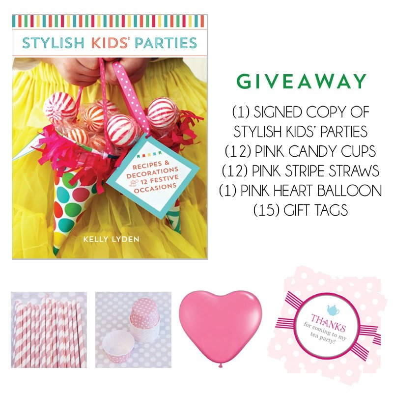 Win a copy of Stylish Kids' Parties + More!