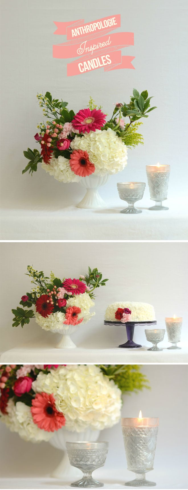 DIY Anthropologie Inspired Candles! EASY + cute!