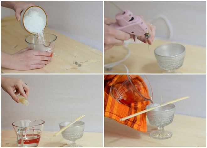 DIY Anthropologie inspired candles!