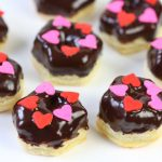 MINI Chocolate Pastry Donuts! LOVE this easy two-step recipe!