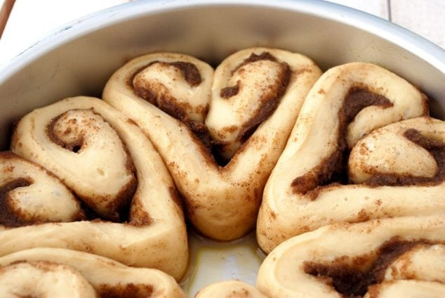 Heart Shaped Cinnamon Rolls for Valentine's Day!