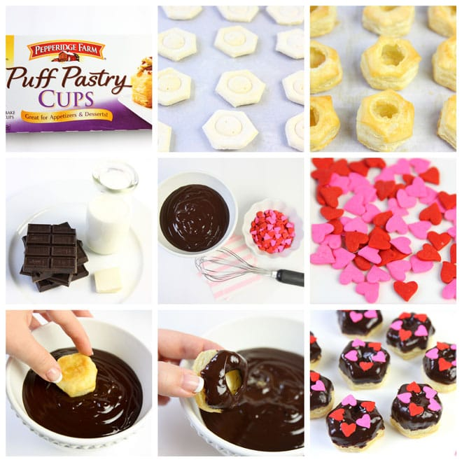 Step-by-Step for making Mini Chocolate Ganache Pastry Donuts by Courtney Whitmore of Pizzazzerie