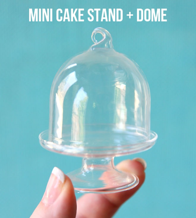 Smallest Cake Stand + Dome