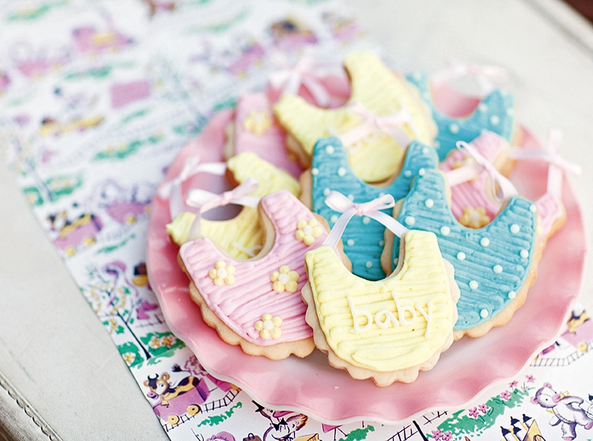 Vintage Baby Sweet Treat Details