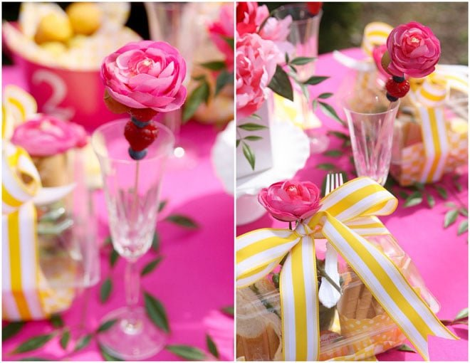 Spring Luncheon: Pink & Yellow!