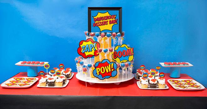 Superhero Staff Appreciation Party Photos + Inspiration!