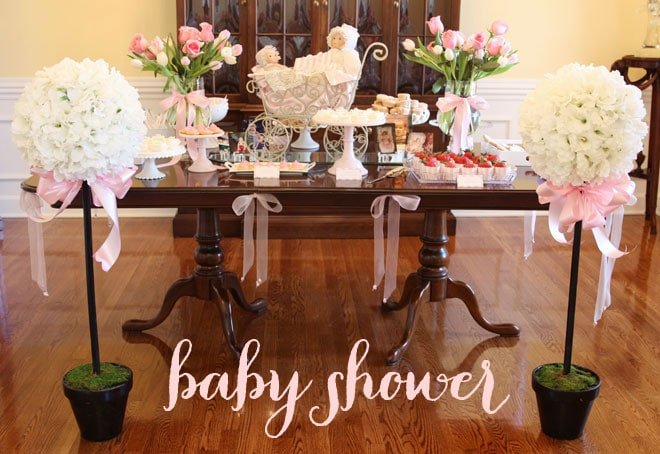 Pizzazzerie's Baby Girl Shower - Pink & Roses!