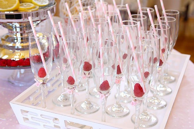 Baby Shower Champagne Glasses!